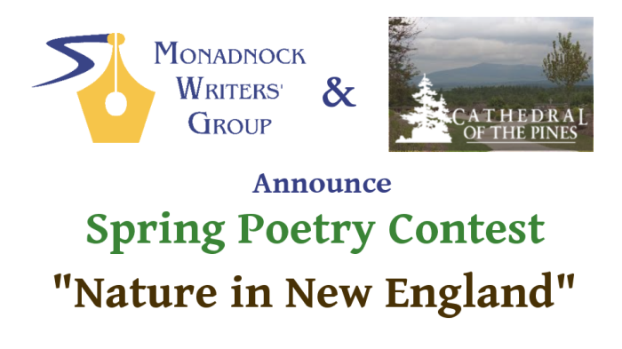 Spring poetry contest